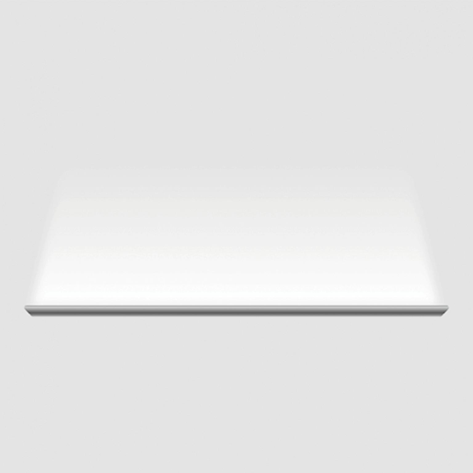 - Đèn SkyLight có vỏ nhôm nguyên khối sơn trắng, dài 120cm, công suất 18W, có thể lắp nối tiếp nhiều chiếc tạo thành mạch liền trên tường