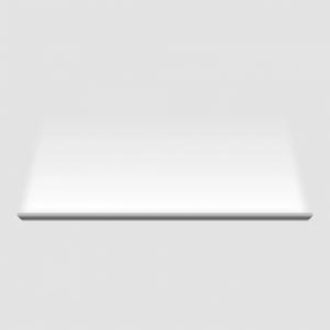 Đèn SkyLight có vỏ nhôm nguyên khối sơn trắng, dài 1m2, công suất 18W, có thể lắp nối tiếp nhiều chiếc tạo thành mạch liền trên tường