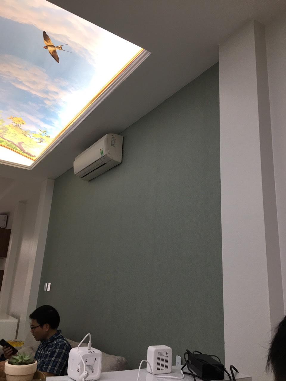 Hệ thống đèn skylight nhà anh Chiến