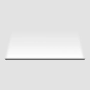 Đèn SkyLight có vỏ nhôm nguyên khối sơn trắng, dài 0.6m, công suất 18W, có thể lắp nối tiếp nhiều chiếc tạo thành mạch liền trên tường