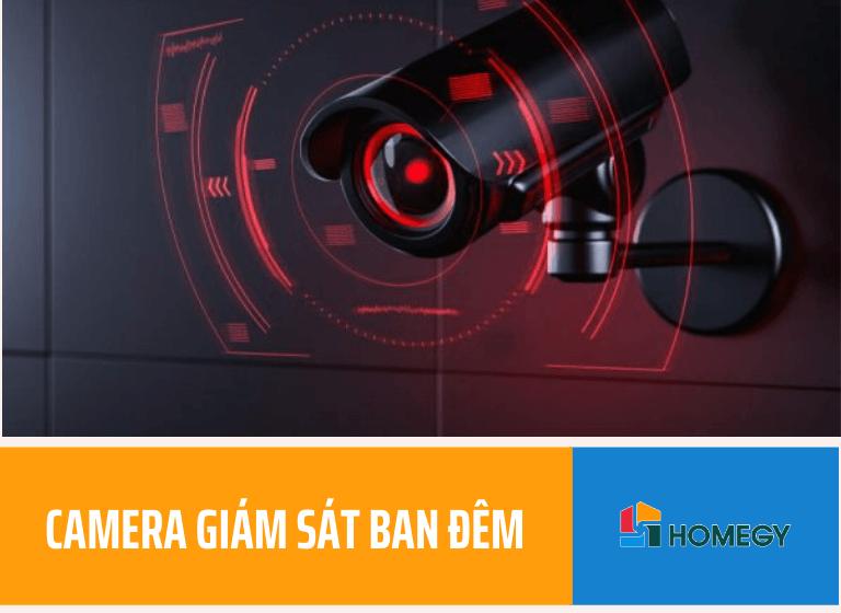 Camera giám sát ban đêm