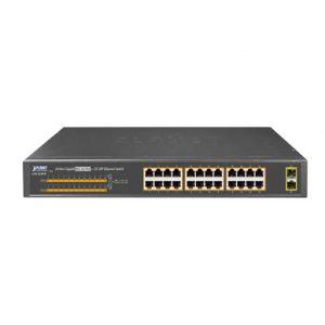 Switch mạng thông minh 24 cổng PoE